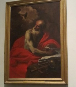 St. Jerome at the Vatican